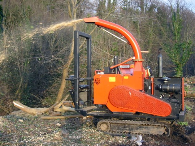 diy wood chipper