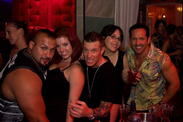 Left to Right: Paul Barbosa, Sarah Joyal, DJ Tre, Andrea Albin, and Marko Adams