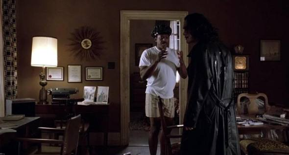 """You still have your hat on."" -Eric Draven ""The Crow"""