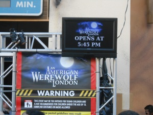 American Werewolf in London HHN 23