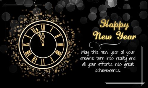 New Year Post
